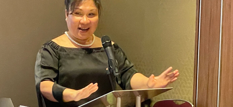 Councillor Myla Arceno