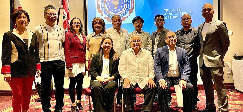 New Board of Trustees and Ambassador Antonio Lagdameo